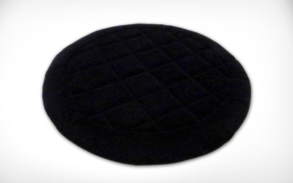 Circular Checker Rug