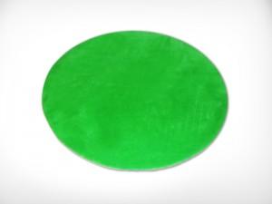 Round Green Rug