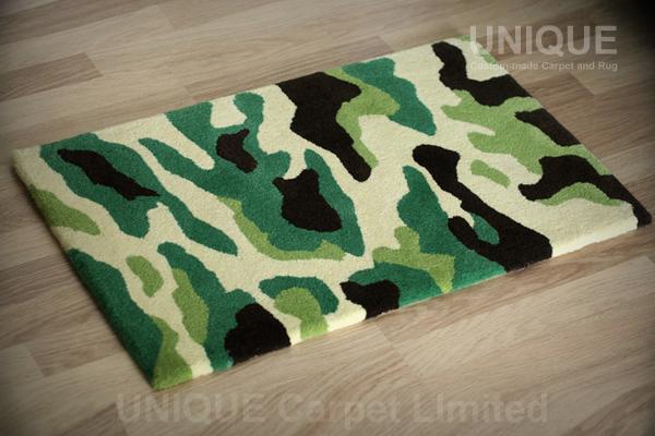 Camouflage Door Mat / 迷彩門口地毯