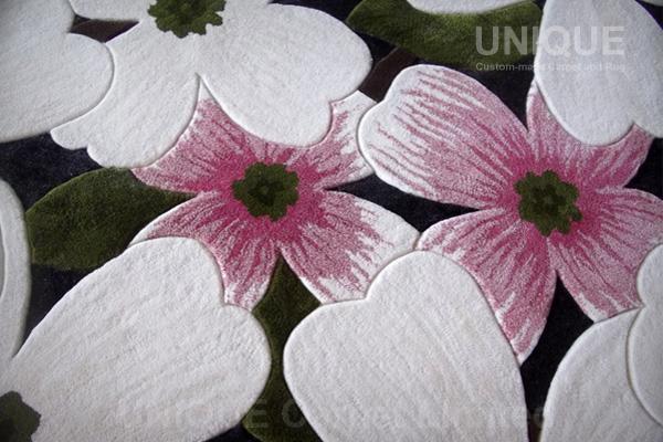 Flower Area Rug / 花圖畫大廳地氈