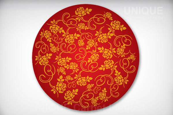 Rose Round Pattern