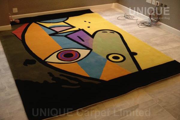 Picasso Area Rug / 畢加索大廳地氈
