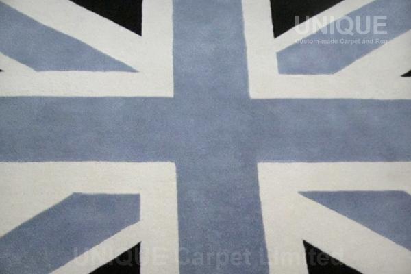 Round England Rug / 圓形英國旗地氈