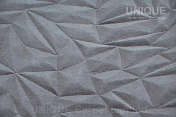 Pyramid Wool Carpet / 金字塔立體剪裁地氈