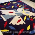 Pigeon illustration Area Rug