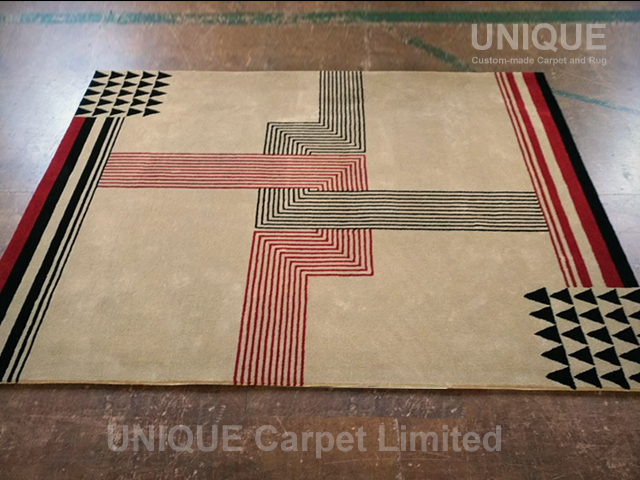 Antique French Art Deco Rug